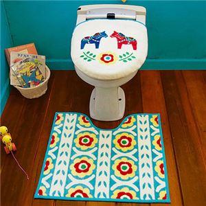 オカトー HOKUORU トイレ2点セット 洗浄・暖房用 ダーラナホース - 拡大画像