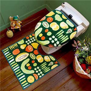 オカトー HOKUORU トイレ2点セット 洗浄・暖房用 ベジタブル - 拡大画像