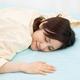 東京西川★ひんやり♪敷きパッドシーツ《メープルクール》日本製/ひんやりクール(ピンク・セミW)