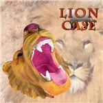 壁のオブジェにも!大迫力リアルで重厚感漂う作り。百獣の王 ライオン小物入れ(灰皿) 1個