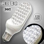 【片面LED電球】これぞ節電!省エネ・超長寿命!片面なので安全 安心 LED電球 36灯 E26 片面LED電球 1点
