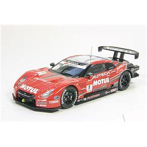 エブロ 1/43 モチュールオーテック GT-R スーパーGT500 '09 第3戦 Fuji優勝車 - 拡大画像