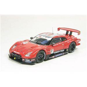 エブロ 1/43 ハセミ トミカエブロ GT-R スーパーGT500 '09 第7戦 Fuji - 拡大画像