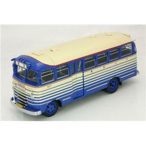 エブロ 1/43 キャブ オーバー バス 東武バス ブルー/アイボリー - 拡大画像