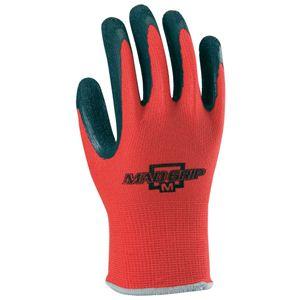 【作業手袋】マッドグリップ 1双入 × 10組セット 2535 レッド Lサイズ - 拡大画像