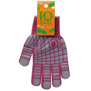 【ガーデニンググローブ】GreenFinger IQグローブ 1双入 × 10組セット 2227 ピンク フリーサイズ - 拡大画像