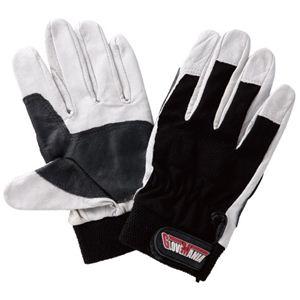 【作業手袋】プロコンボレザーメカニックグローブ 1双入 × 10組セット 2397 Sサイズ - 拡大画像