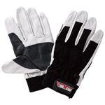 【作業手袋】プロコンボレザーメカニックグローブ 1双入 × 10組セット 2397 Lサイズ