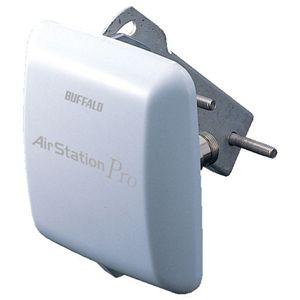 バッファロー <エアステーション プロ> 5.6GHz/2.4GHz無線LAN 屋外遠距離通信用 平面型アンテナ WLE-HG-DA/AG - 拡大画像