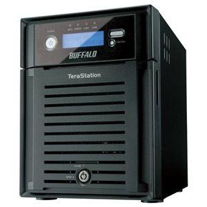 バッファロー <テラステーション IS> 管理者・RAID機能 iSCSI対応HDD 4TB TS-IX4.0TL/R5 - 拡大画像