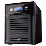 バッファロー テラステーション ウイルスチェック(1年間)・管理者・RAID6搭載 4ドライブ NAS 8TB TS-XH8.0L/R6VC1Y