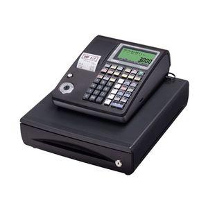 カシオ計算機 カシオ電子レジスター(10部門) TE-300-BK - 拡大画像
