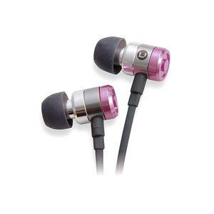 TDK インナーカナルヘッドホン サウンドチューニング CLEF-Pシリーズ ボーカルチューニング(ピンク) TH-EC40PK - 拡大画像