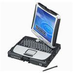 パナソニック TOUGHBOOK CF-19(Win7 Pro/i5-2520M 2.50GHz/10.1 XGA/4GB/320GB/無線LAN/WWAN/9時間駆動) CF-19AR1ADS