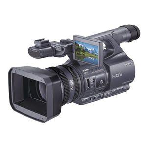 ソニー <HANDCAM>デジタルHDビデオカメラレコーダー HDR-FX1000 - 拡大画像