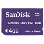 サンディスク MemoryStick Pro Duo 4GB SDMSPD-4096-J95