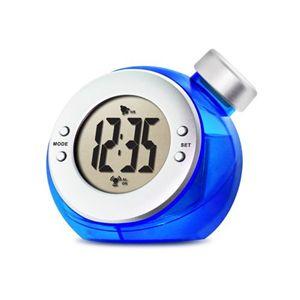 ベルソス ウォーターバッテリーアラーム時計 (ブルー)/TIME H2O VS-302(BL) - 拡大画像