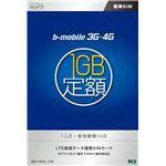 【訳あり・在庫処分】日本通信 bモバイル 3G・4G 1GB定額 有効期間30日<標準SIM> BM-FRML-1GB