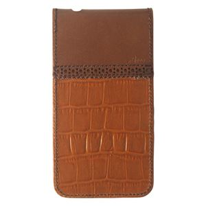 BARREL Flip-top Leather case for iPhone 4/4S Brown BRL-FTCRIP4S-BR