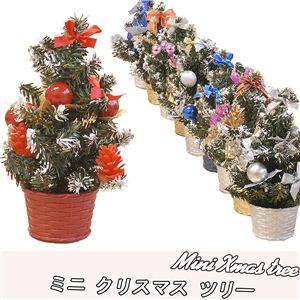 ミニ クリスマス ツリー J ブラウン - 拡大画像