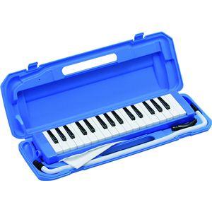 鍵盤ハーモニカ ブルー P3001-32K/BL - 拡大画像