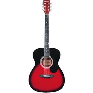 Sepia Crue アコースティックギター フォークタイプ FG-10/RDS レッドサンバースト
