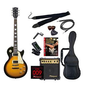 PG エレキギター 初心者入門エントリーセット レスポールタイプ LP-260/BS ブラウンサンバースト - 拡大画像