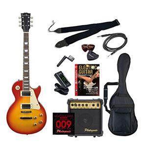 PG エレキギター 初心者入門エントリーセット レスポールタイプ LP-260/CS チェリーサンバースト - 拡大画像
