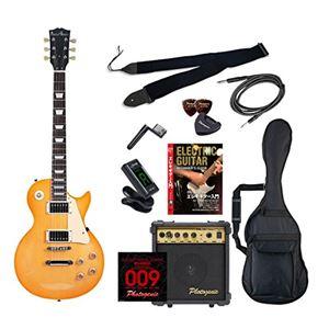PG エレキギター 初心者入門エントリーセット レスポールタイプ LP-260/HB ハニーバースト - 拡大画像