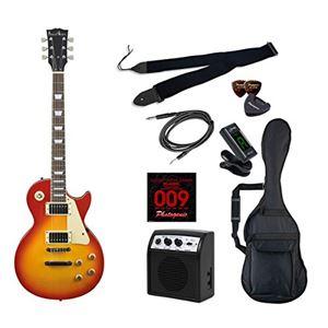 PG エレキギター 初心者入門ライトセット レスポールタイプ LP-260/CS チェリーサンバースト - 拡大画像