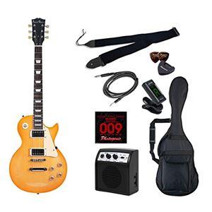 PG エレキギター 初心者入門ライトセット レスポールタイプ LP-260/HB ハニーバースト - 拡大画像
