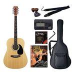 Sepia Crue アコースティックギター バリューセット ウェスタンタイプ WG-10/N ナチュラル