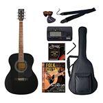 Sepia Crue アコースティックギター バリューセット フォークタイプ FG-10/BK ブラック