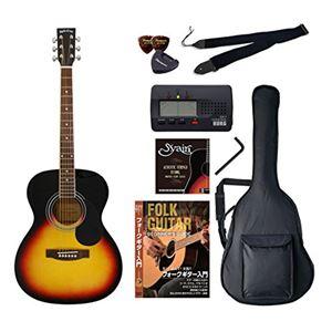 Sepia Crue アコースティックギター バリューセット フォークタイプ FG-10/VS ヴィンテージサンバースト