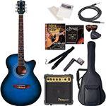Sepia Crue  エレクトリックアコースティックギター エントリーセット EAW-01/BLS ブルーサンバースト