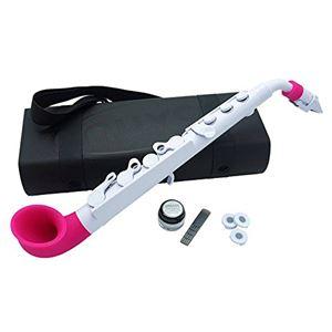 NUVO プラスチック製 サックス jSax White/Pink N510JWPK 【国内正規品】