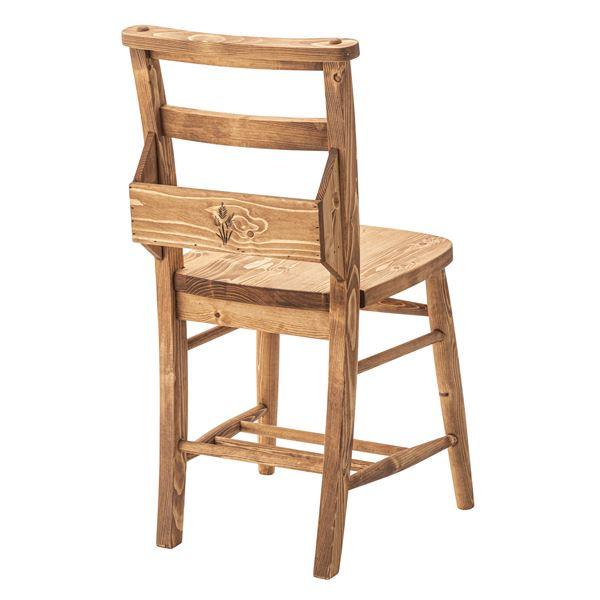 (2脚セット)東谷 ダイニングチェア(フォレ) 木製(パイン材/オイル仕上げ) CFS-770
