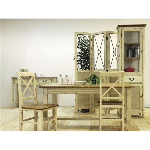 (2脚セット)東谷 ダイニングチェア(ブロッサム) 木製 COL-019