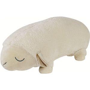 抱き枕 羊のメアリー ロングクッション★90cm アイボリー - 拡大画像