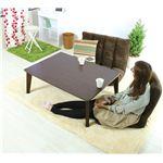リビングこたつテーブル  【NEOケビンこたつ】  長方形  本体  木製(天然木)   BLK-711BR  ブラウン