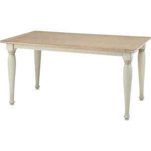 【単品】ダイニングテーブル クラッシー 長方形 木製(天然木) CL-467T
