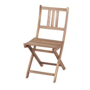 男前イス・チェアー・スツール 通販   折りたたみ椅子/チェア 【Byron】バイロン 木製(アカシア/オイル仕上げ) NX-901【完成品】