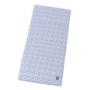 東谷(AZUMAYA) 接触冷感ごろ寝クッション Gブルー GLS-385GBL - 拡大画像