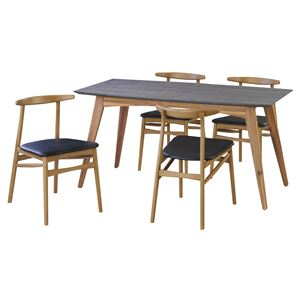 ダイニングチェア 【Griffin】グリフィン 木製 北欧家具 VET-401C の画像