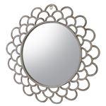 壁掛け鏡(ウォールミラー) 円形 飛散防止加工フィルム加工 スチール ELF-519
