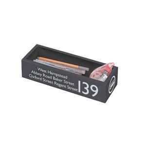 カトラリーボックス 天然木桐材 ブラック FKG-268BK