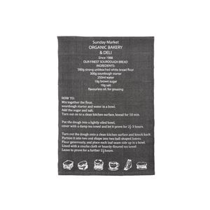 ラグマット/絨毯 【130cm×90cm ブラック】 長方形 コットン製 裏面:スベリ止め加工 TTR-128BK