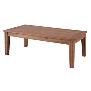 木製センターテーブル/ローテーブル 【Lサイズ 幅110cm×奥行55cm】 アカシア材オイル仕上げ 『アルンダ』