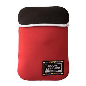 エコロジー湯たんぽ/防寒グッズ 【レッド】 繰り返し使える 洗える専用カバー 〔寒さ対策 防寒具 冷え対策 アウトドア〕