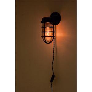 北欧風 ブラケットライト/照明器具 【LHT-731 幅10cm】 アルミ ガラス 電球付き 〔壁面 家屋 マンション アパート〕